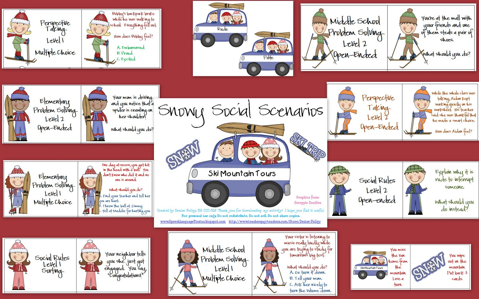 problem solving scenarios for students  4 steps to student