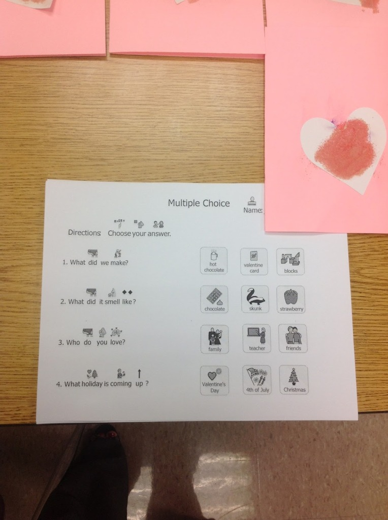 Activities for Minimally Verbal/Nonverbal Students