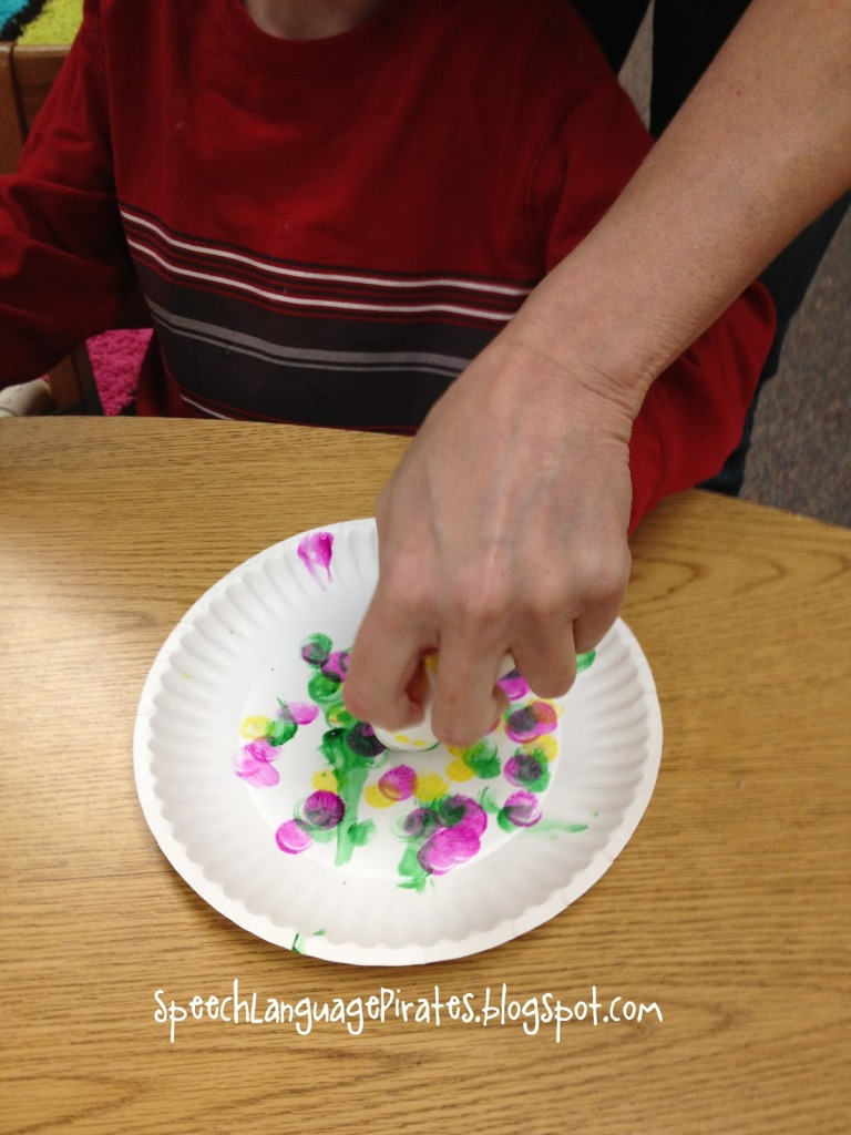 Spring and Mother's Day crafts for low incidence populations