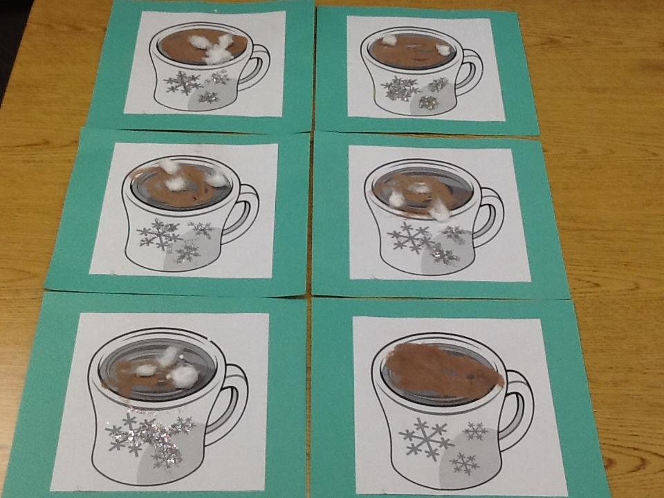 Sensory-loaded Hot Chocolate Craft