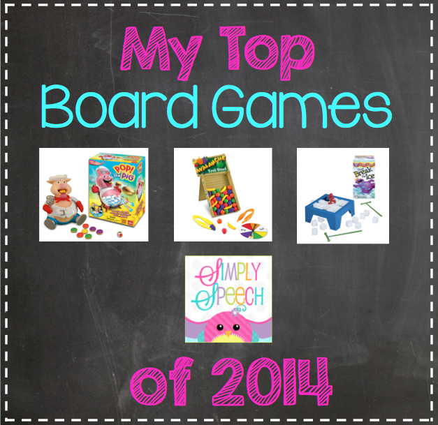 My Top Board Games of 2014