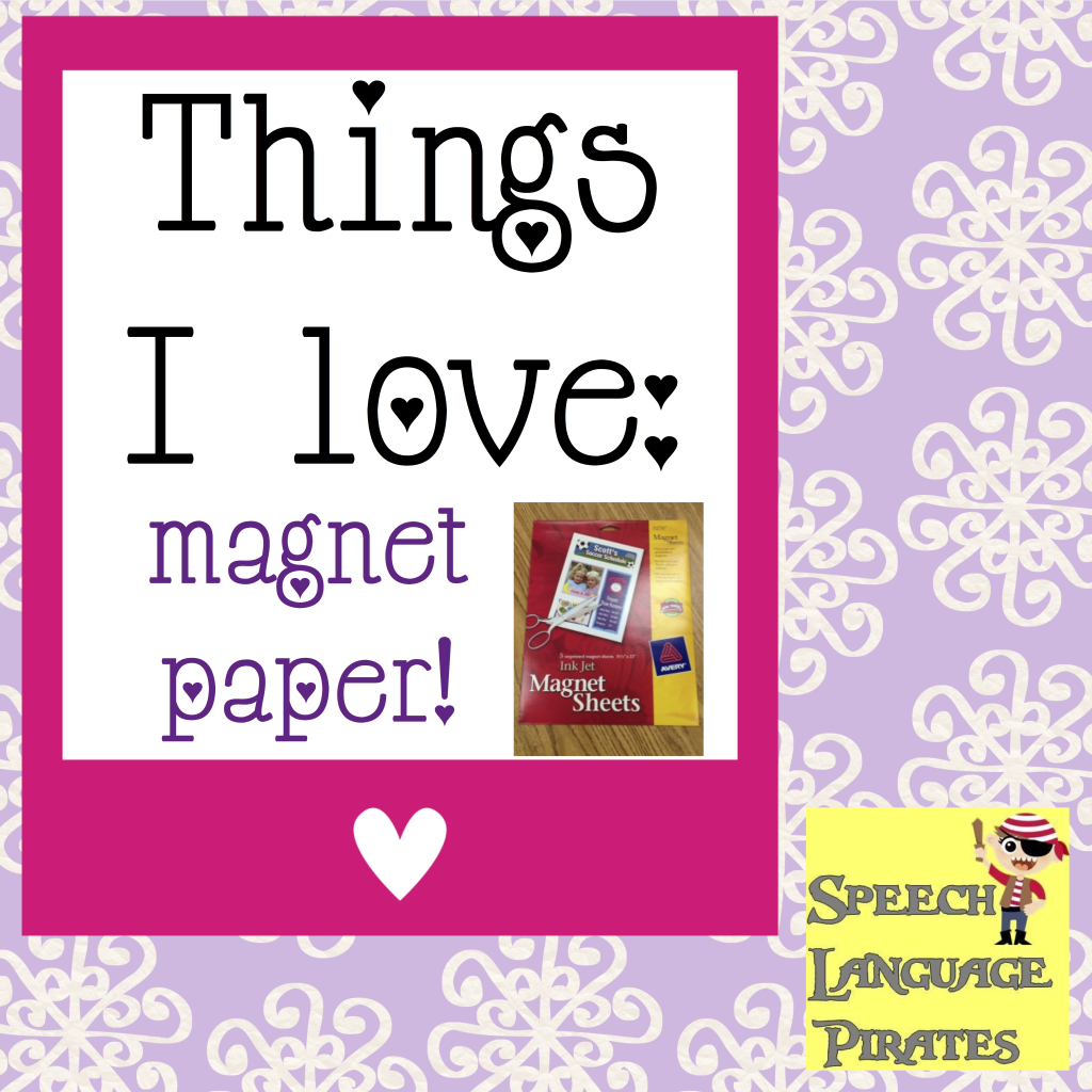 The Frenzied SLPs: Things I love!