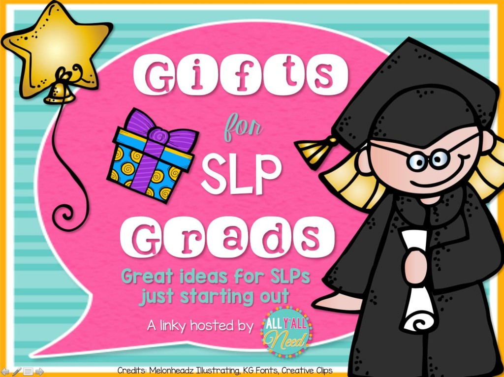 Gifts for SLP Grads linky party