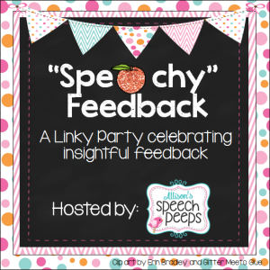 S…Peachy Feedback Linky