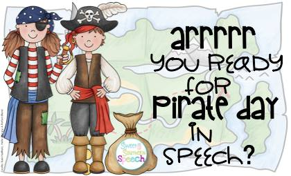 """Talk Like a Pirate"" Day in Speech!"