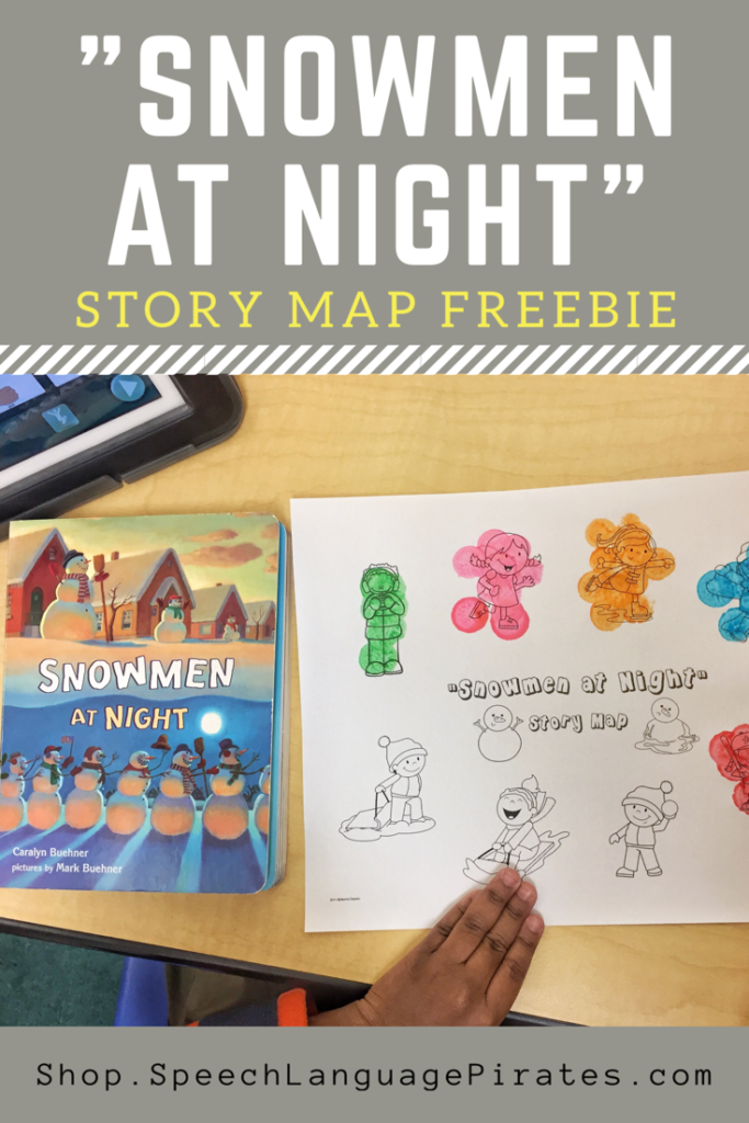 """Snowmen at Night"" Freebie"