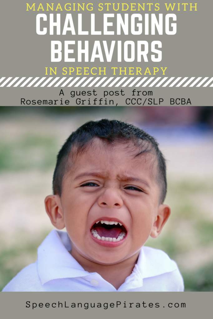 Strategies for Managing Challenging Behaviors in Speech Therapy