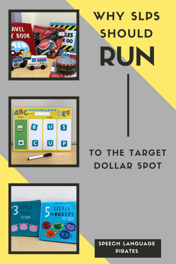 Why SLPs should run to the Target Dollar Spot!