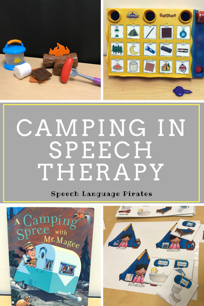 Camping in Speech Therapy