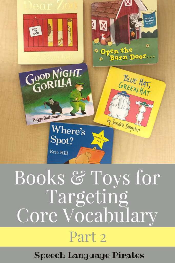 Books for Targeting Core Vocabulary