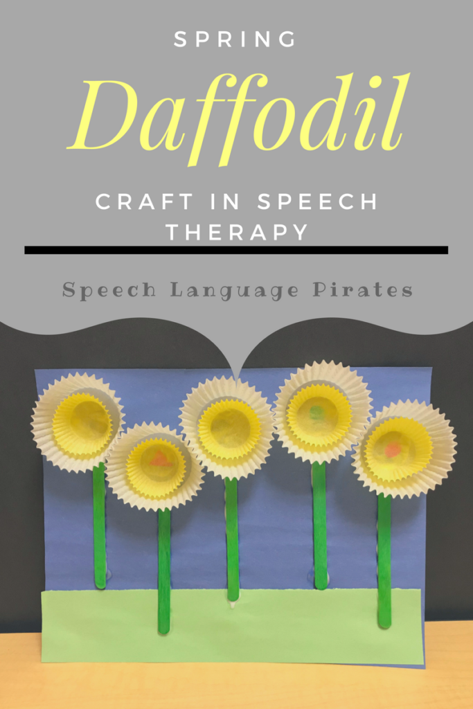 Daffodil Craft for Speech and Language