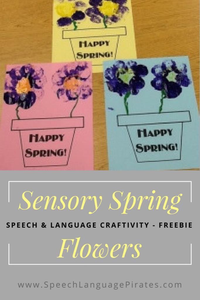 Sensory Spring Flowers