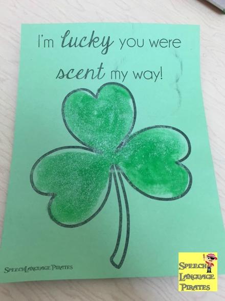St. Patrick's Day Sensory Craft
