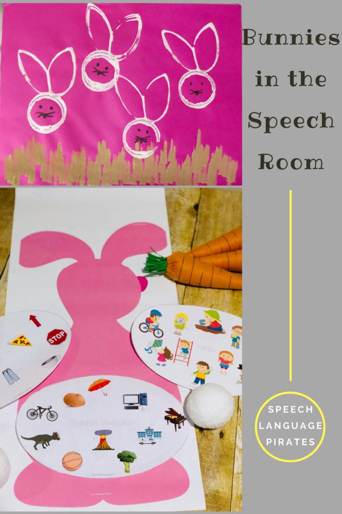 Bunnies in the Speech Room